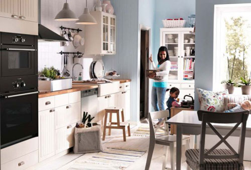 single family kitchen layout - Family Kitchen